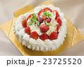 ハートのデコレーションケーキ 23725520
