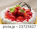 ストロベリーケーキのアップ 23725627