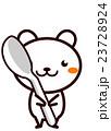 スプーンを持った動物シリーズ 23728924