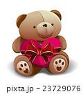 くま マスコット クマのぬいぐるみのイラスト 23729076