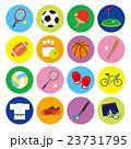 スポーツ アイコン バリーエーションのイラスト 23731795