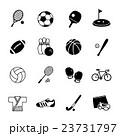 スポーツ アイコン バリーエーションのイラスト 23731797