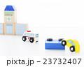 救急車 病院 事故 交通事故 医療 緊急車両 搬送 救命 救急 119 23732407