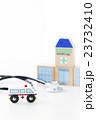 救急車 病院 医療 聴診器 医者 ドクター 医師 緊急車両 搬送 救命 救急 119 23732410