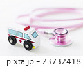 救急車 病院 医療 聴診器 医者 ドクター 医師 緊急車両 搬送 救命 救急 119 23732418