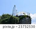 岬の聖母像 夏 マリア像の写真 23732530