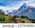 マチャプチャレ 風景 山岳の写真 23734664