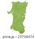 秋田県地図 23738474