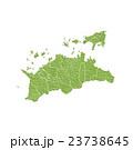香川県地図 23738645