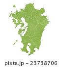九州地図 23738706