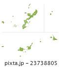 沖縄県地図 23738805