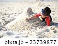 ビーチ 砂遊び 子供の写真 23739877