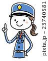 女性警備員:チェックポイント 23740581