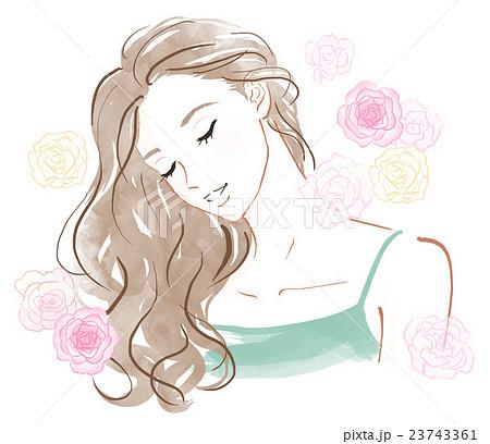 バラの香りのイメージ 23743361