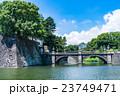 【東京】皇居外苑・二重橋 23749471