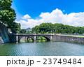 【東京】皇居外苑・二重橋 23749484