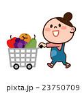 買い物中の女性 23750709