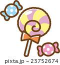 キャンディ ペロペロキャンディ お菓子のイラスト 23752674