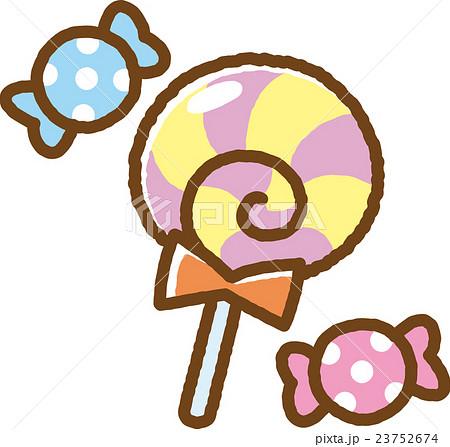キャンディーのイラスト素材 23752674 Pixta