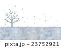 冬の木のイラスト 23752921