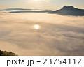 摩周湖 雲海 湖の写真 23754112