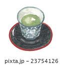 湯呑み 茶碗 茶托のイラスト 23754126