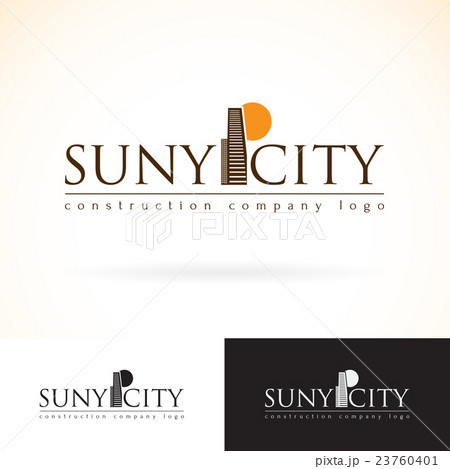 Construction building company vector logo template 23760401