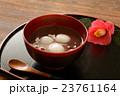 白玉ぜんざい&椿の花 23761164