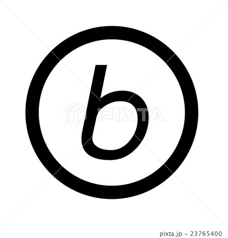 letter a photography basic font letter b icon illustration designのイラスト素材 16410 | 23765400