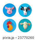 鶏 アイコン イコンのイラスト 23770260