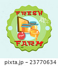 Honey Fresh Eco Farm Logo 23770634