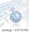 キーボード上の世界時計 23772790