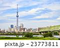 東京スカイツリーと木根川橋 23773811