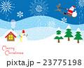 クリスマス サンタクロース クリスマスカードのイラスト 23775198