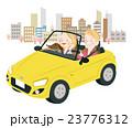 ドライブ 春 夫婦のイラスト 23776312
