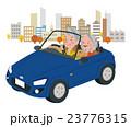 ドライブ 秋 夫婦のイラスト 23776315