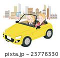 ドライブ 春 夫婦のイラスト 23776330