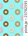 Donut seamless pattern. Vector illustration 23782595