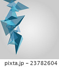 Abstract geometric background, triangular design 23782604