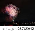 函館湾 夏の花火大会と夜景 23785942