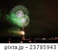 函館湾 夏の花火大会と夜景 23785943
