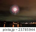 函館湾 夏の花火大会と夜景 23785944