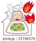 独居老人の火災 23786370