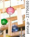 風鈴 ガラス風鈴 ビードロ風鈴の写真 23790680