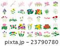 季節の花々 23790780