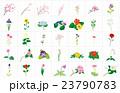 季節の花々2枠 23790783