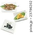 おせち おせち料理 白バックのイラスト 23796202