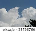 夏の青い空と白い雲 23796760