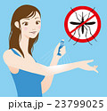 虫除け スプレー 蚊のイラスト 23799025