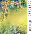 フラワー 花 水彩画のイラスト 23801390